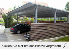 schlosserei metallbau l del schwabach carport. Black Bedroom Furniture Sets. Home Design Ideas